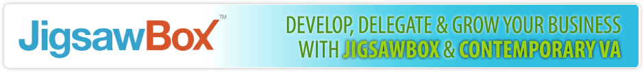 Develop, Delegate & GROW Your Business with Jigsawbox & Contemporaryva VA
